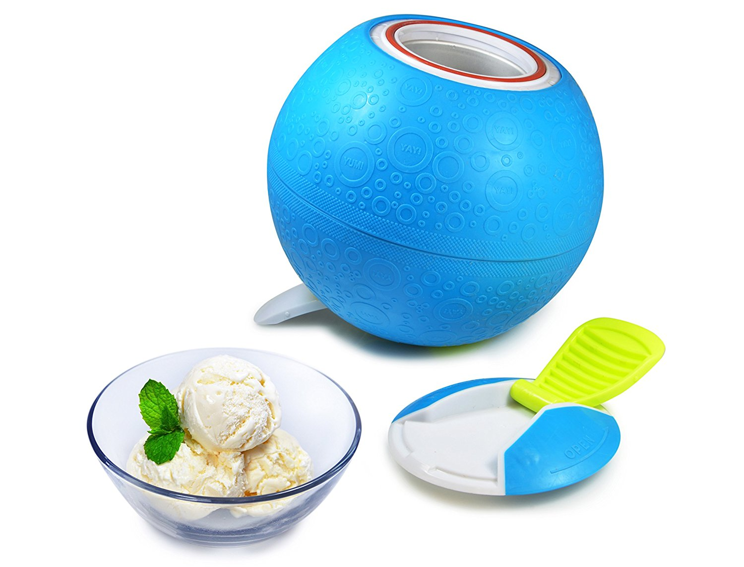 Kitchen tools you don't need and what to buy instead: Say no to the ice cream maker. We've got other ideas, including this Yaylabs Ice Cream Ball multitasker | Cool Mom Eats
