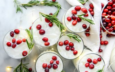 Fabulous holiday cocktails you can prep ahead so you can drink and be merry with your guests.