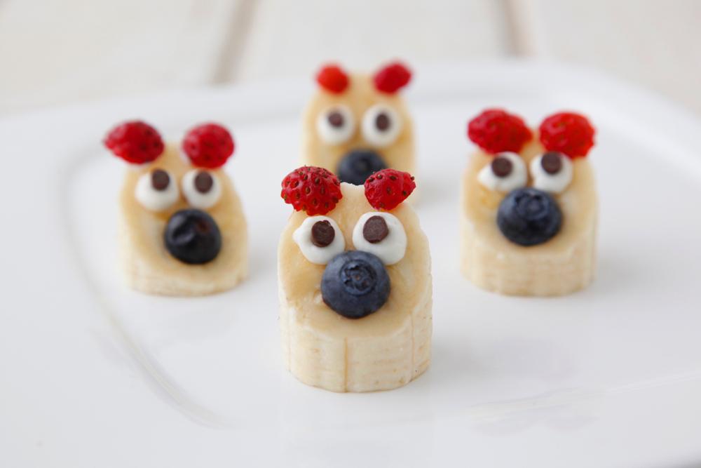 Healthy dessert recipes for kids: Banana Bears | Weelicious