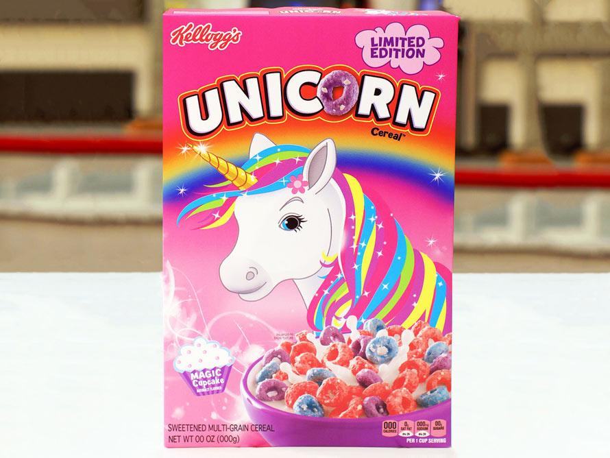 Unicorn Cereal at Foodiggity