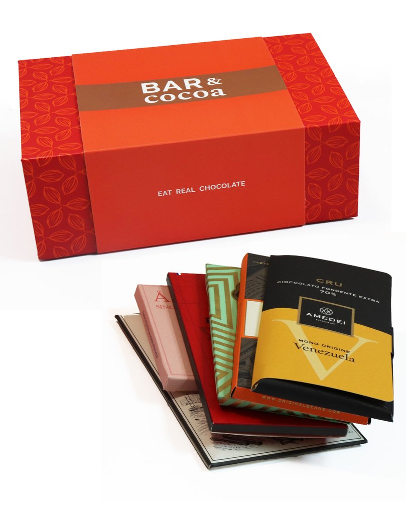 Bar & Cocoa Chocolate Bar Gift Subscription Box