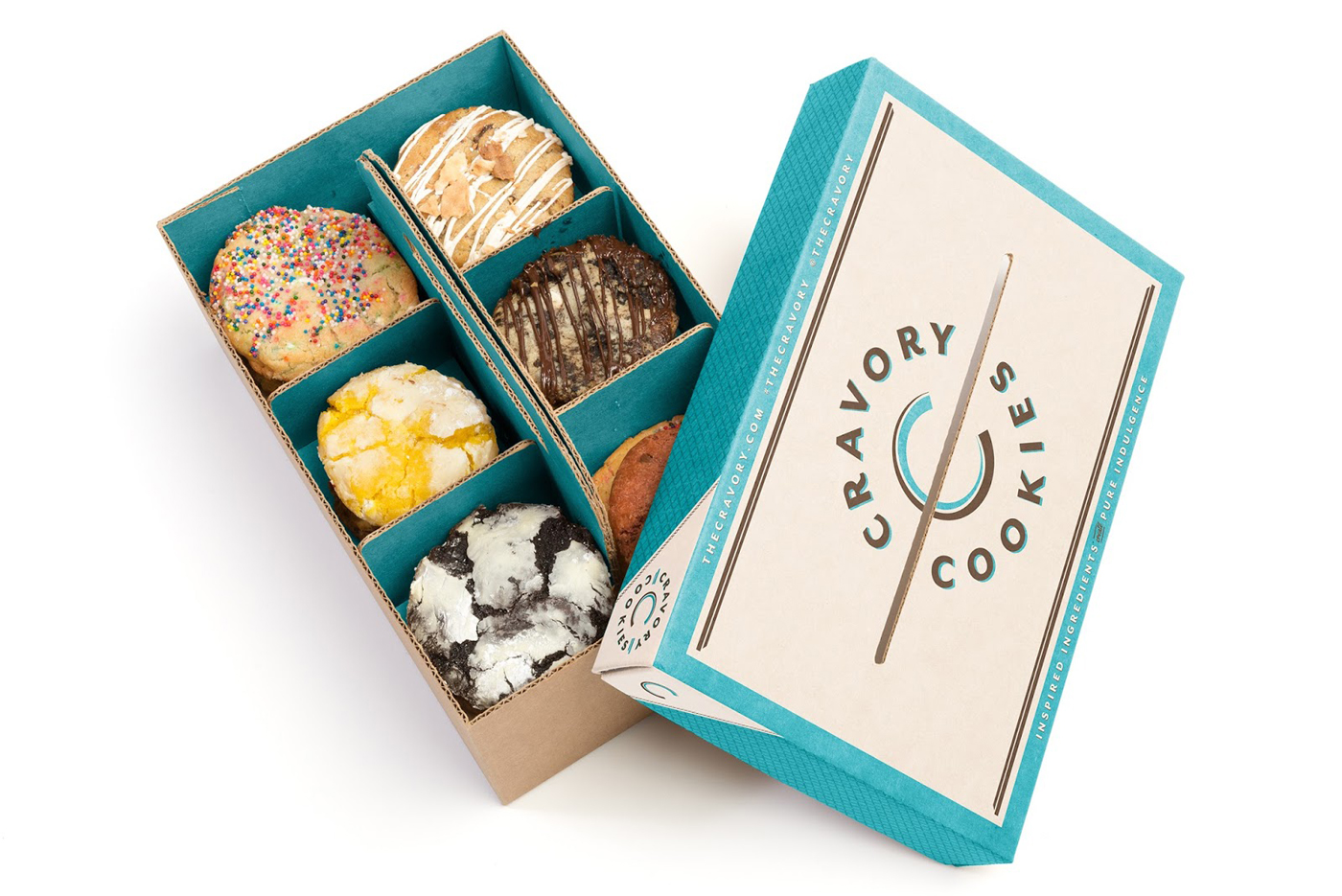 Best food subscription boxes perfect for last-minute holiday gifts: Cravory Cookies | Cool Mom Eats holiday gift guide 2017