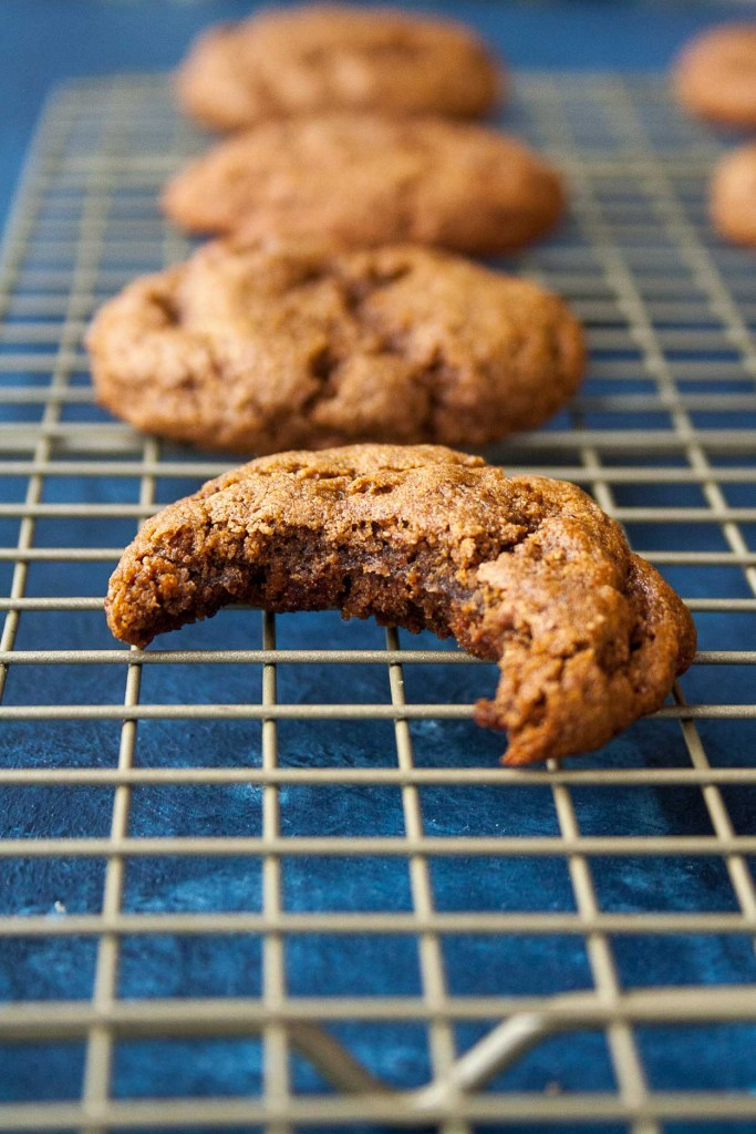 Clean holiday dessert recipes: Paleo & Vegan Molasses Cookies at Hungry by Nature