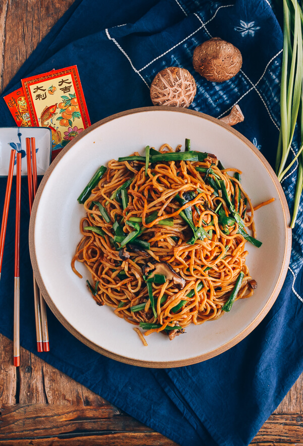 Cool Mom Eats weekly meal plan: Long Life Noodles at Woks of Life