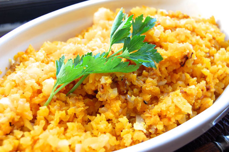 Healthy substitutions for white rice: Butternut Squash at Paleo Grubs