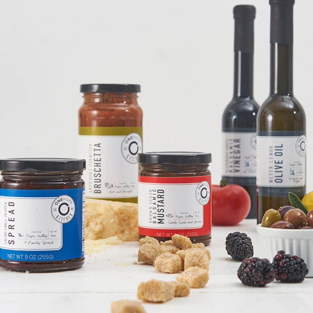 Holiday gifts for food lovers that do good in the world: ONEHOPE Napa Taster Set | Cool Mom Eats holiday gift guide 2017
