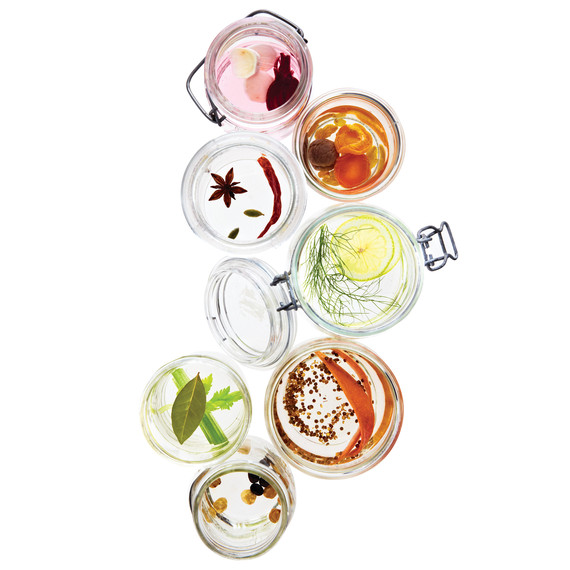 Our favorite homemade holiday food gifts: Flavored Vodka | Martha Stewart