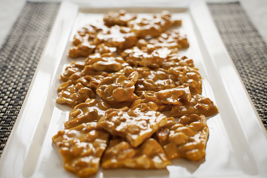 Our favorite homemade holiday food gifts: Peanut Brittle | King Arthur Flour
