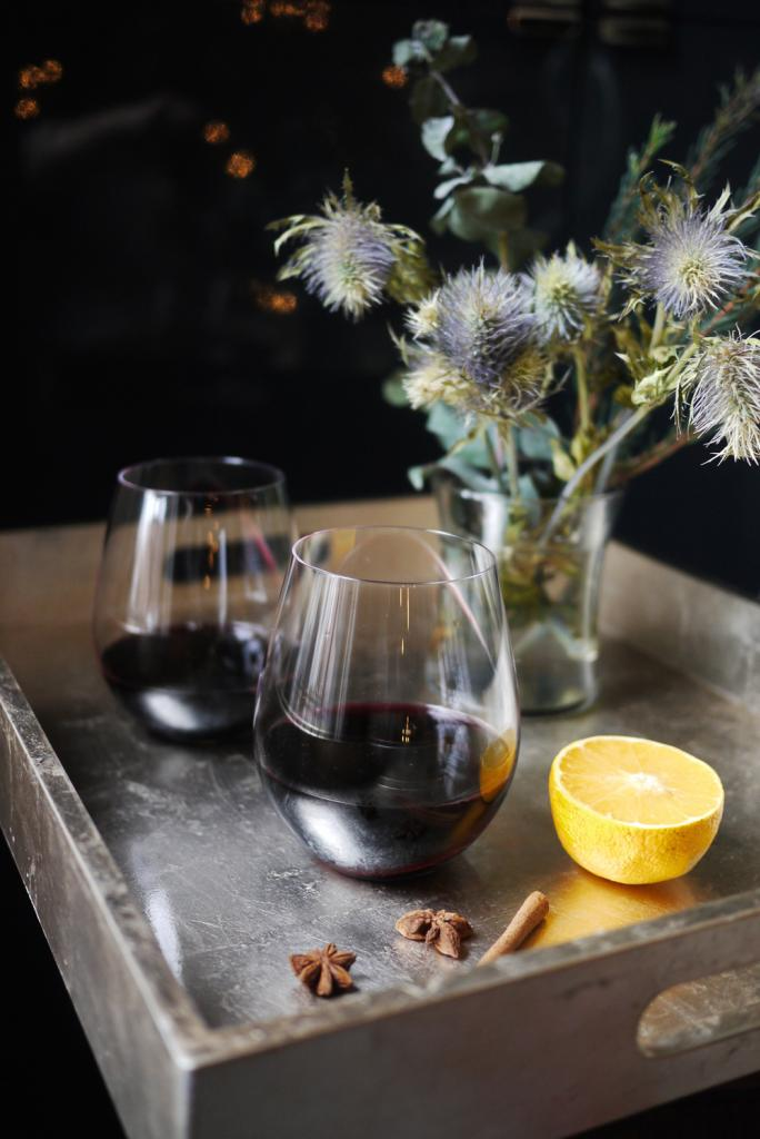 Make ahead holiday cocktail recipes | Mulled Wine recipe at Cool Mom Eats