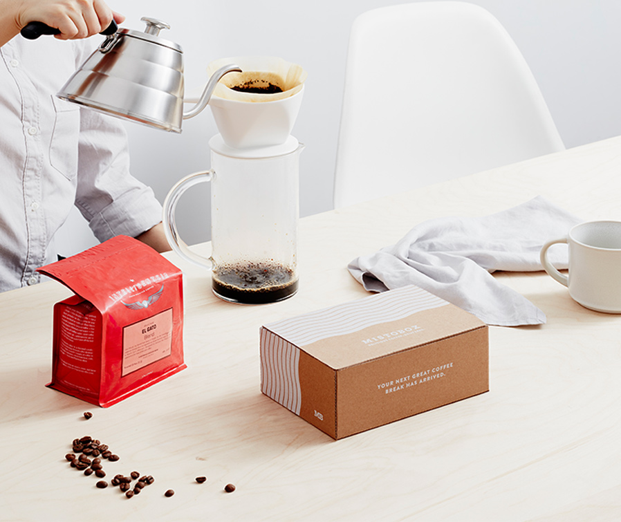 Mistobox coffee subscription is one of our favorite food subscription boxes