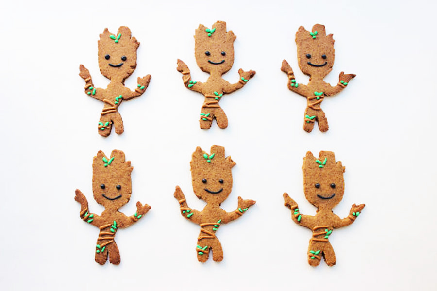 Stop everything and make these 8 cool pop-culture gingerbread cookies now.