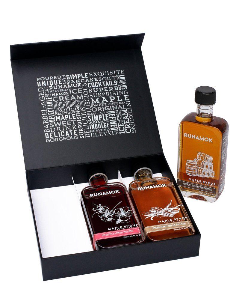 Runamok artisanal organic Vermont maple syrup gift boxes: Fabulous foodie gift!
