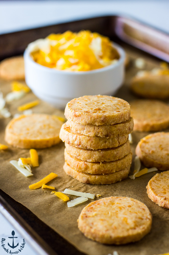 Fantastic recipes to make with kids that aren't dessert: Cheese Crackers | Bread Babe