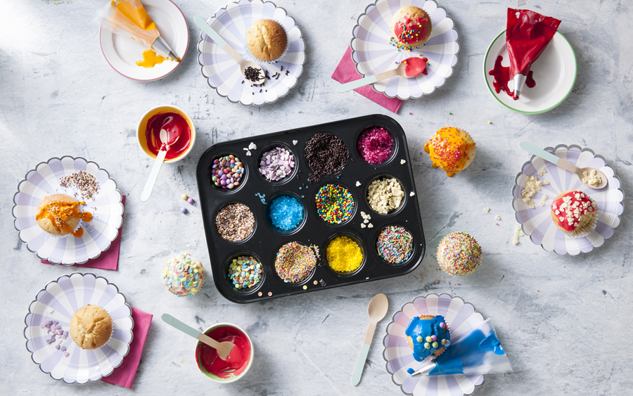 Savory Magazine Snow Day Survival Guide is packed with fun activities to keep the kids -- and you -- busy when it's just to cold and snowy to go outside: Cupcake wars anyone?! | Cool Mom Eats [sponsored]