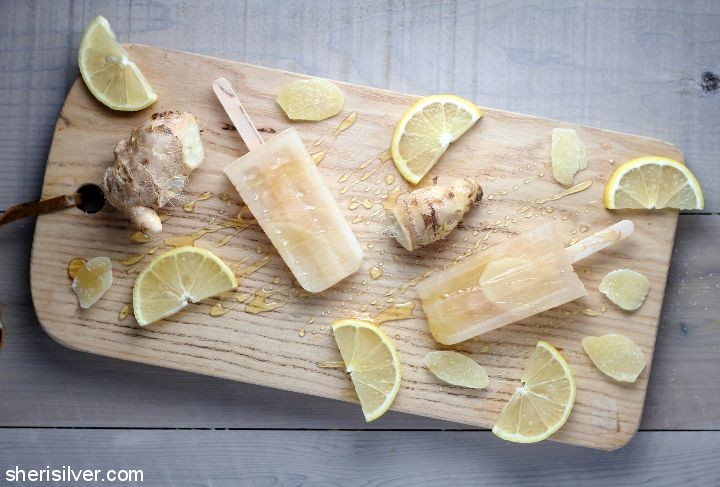 Snack recipes that help you sleep better: Chamomile Popsicles | Sheri Silver