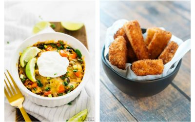 Next week's meal plan: 5 easy recipes for the week ahead, from a slow cooker enchilada casserole to majorly upgraded fish sticks.