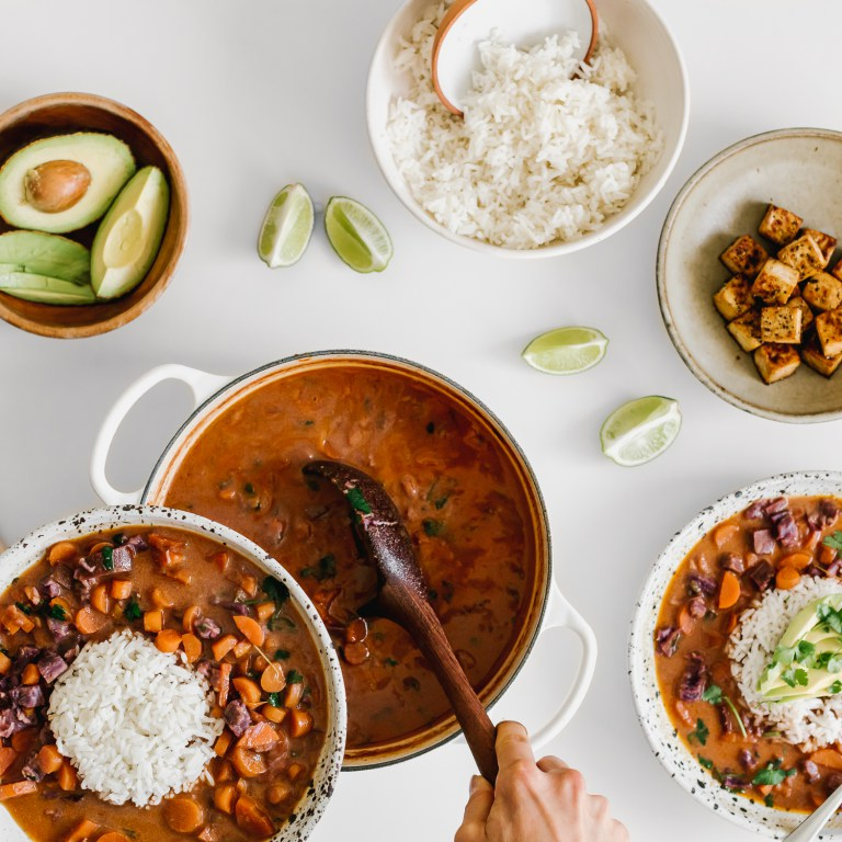 Cool Mom Eats weekly meal plan: Root Vegetable Coconut Curry at Faring Well