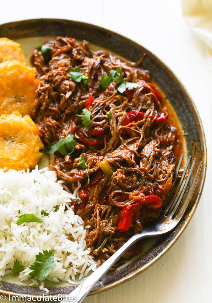 Black food bloggers you should be following -- because they're some of the best food bloggers out there, period: Immaculate Bites - recipe for Ropa Vieja