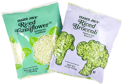 Our 15 favorite healthy Trader Joe's products to help make healthy eating easier: Riced veggies   Cool Mom Eats