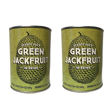 Our favorite healthy Trader Joe's products that make healthier eating way easier (so we can do it way longer!): Green Jackfruit in brine -- you'll be amazed!! | Cool Mom Eats
