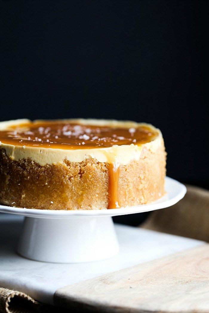 Surprising Instant Pot recipes: Salted Caramel Cheesecake at Cookies & Cups