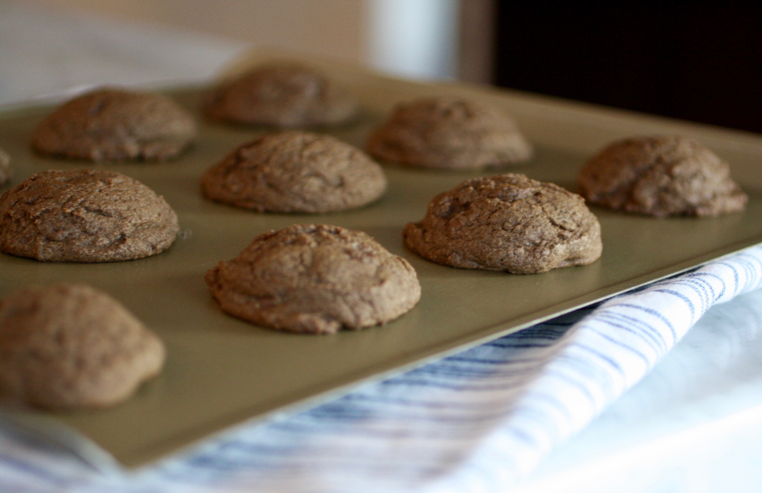 Adding coffee flour to cookies adds both taste and texture: Chocolate Chip Coffee Flour Cookies | © Jane Sweeney Cool Mom Eats