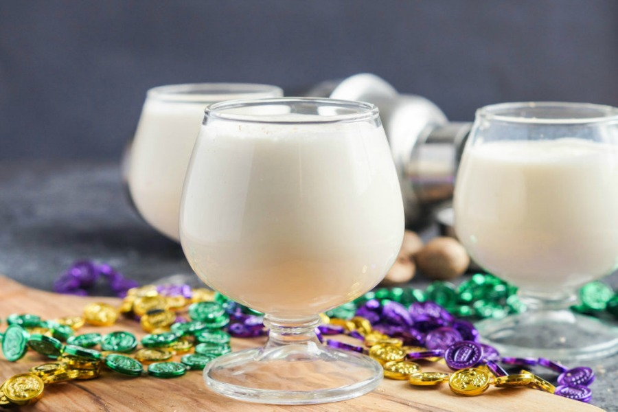 classic New Orleans cocktail recipes for Fat Tuesday or anytime you want a taste of Mardi Gras | Brandy Milk Punch by Tara's Multicultural Table
