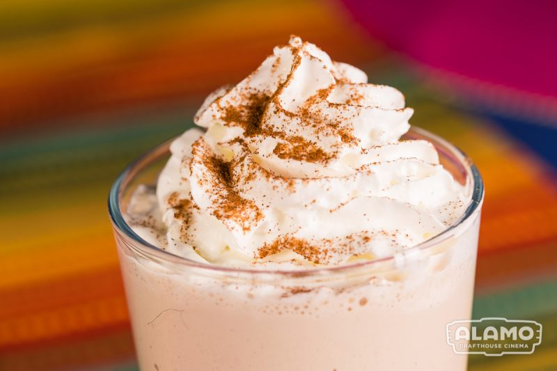 Coffee-ginger shake inspired by Black Panther at Alamo Drafthouse