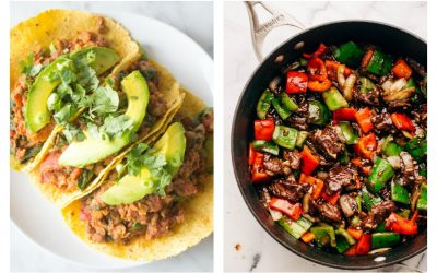 Next week's meal plan: 5 easy recipes for the week ahead, from 15-minute tacos to a sheet pan dinner perfect for watching the Olympics.