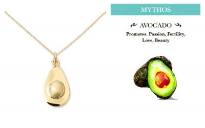 Food inspired jewelry with a meaningful twist. Delicious!
