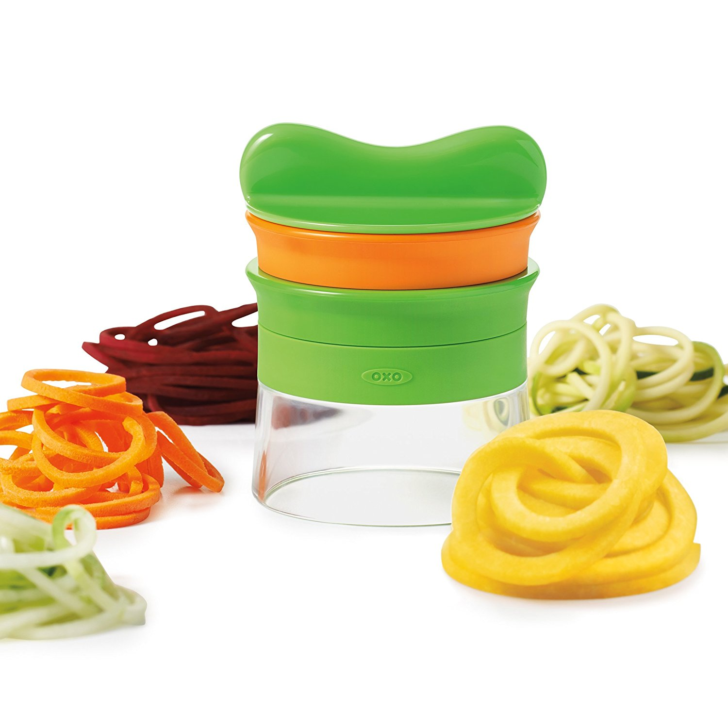 Fun kitchen gadgets at Amazon Prime for under $20 that we're totally here for: OXO 2-Blade Spiralizer | Cool Mom Eats