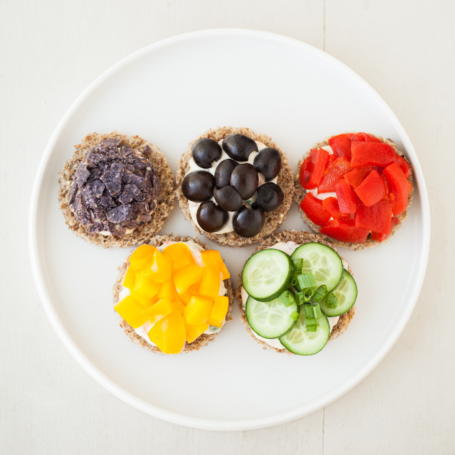 Olympics snack ideas: Veggie Tea Sandwiches at Thirsty for Tea