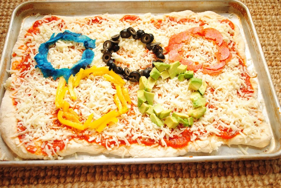 Olympics snack recipes: DIY pizza | The Style Sisters