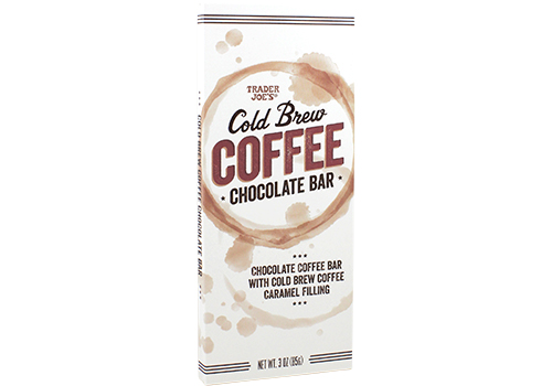 What family-friendly products to buy at Trader Joe's this month: Cold Brew Coffee Chocolate Bar | Cool Mom Eats