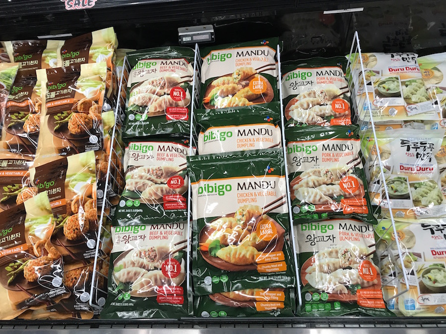 Asian grocery store finds: Frozen meals and sides | © Jane Sweeney Cool Mom Eats