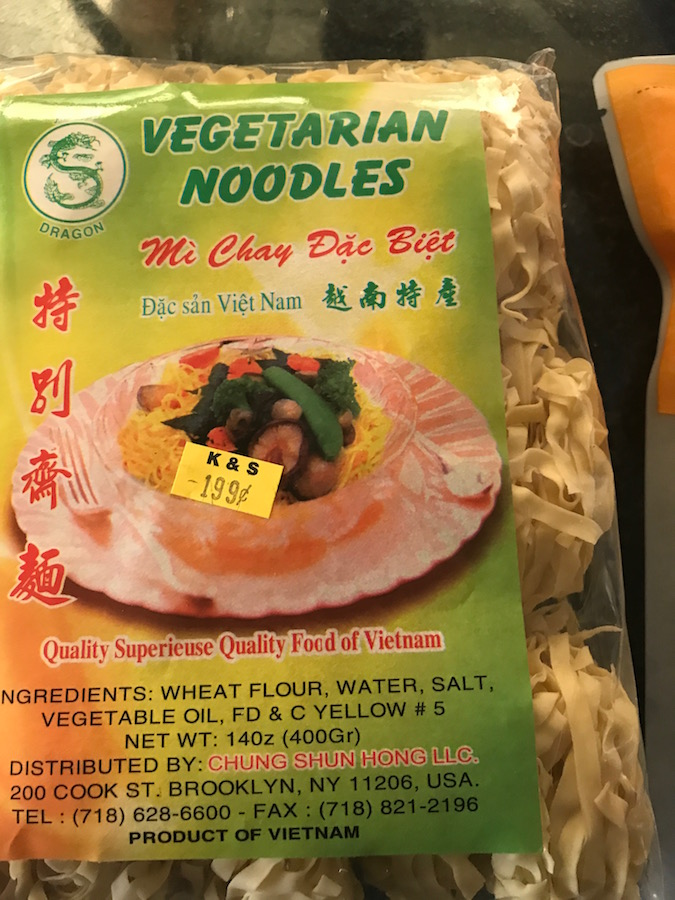 Asian grocery store finds: Noodles | © Jane Sweeney Cool Mom Eats