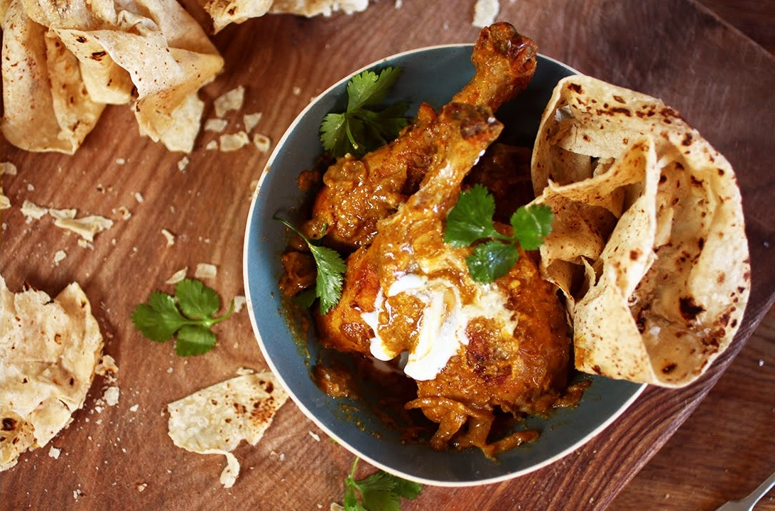 Cool Mom Eats weekly meal plan: Quick Chicken Korma by Mallika Basu for Jamie Oliver's FoodTube