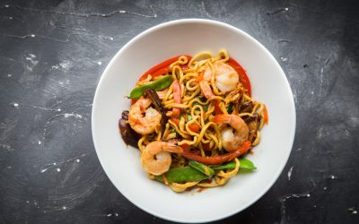 Next week's meal plan: 5 easy recipes for the week ahead, from easy Shrimp Lo Mein to a 15-minute Korean Beef Bowl.