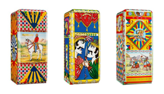 In case you want your fridge to be a fashion statement: Dolce Gabbana x Smeg refrigerators. (Whoa!) | Cool Mom Eats