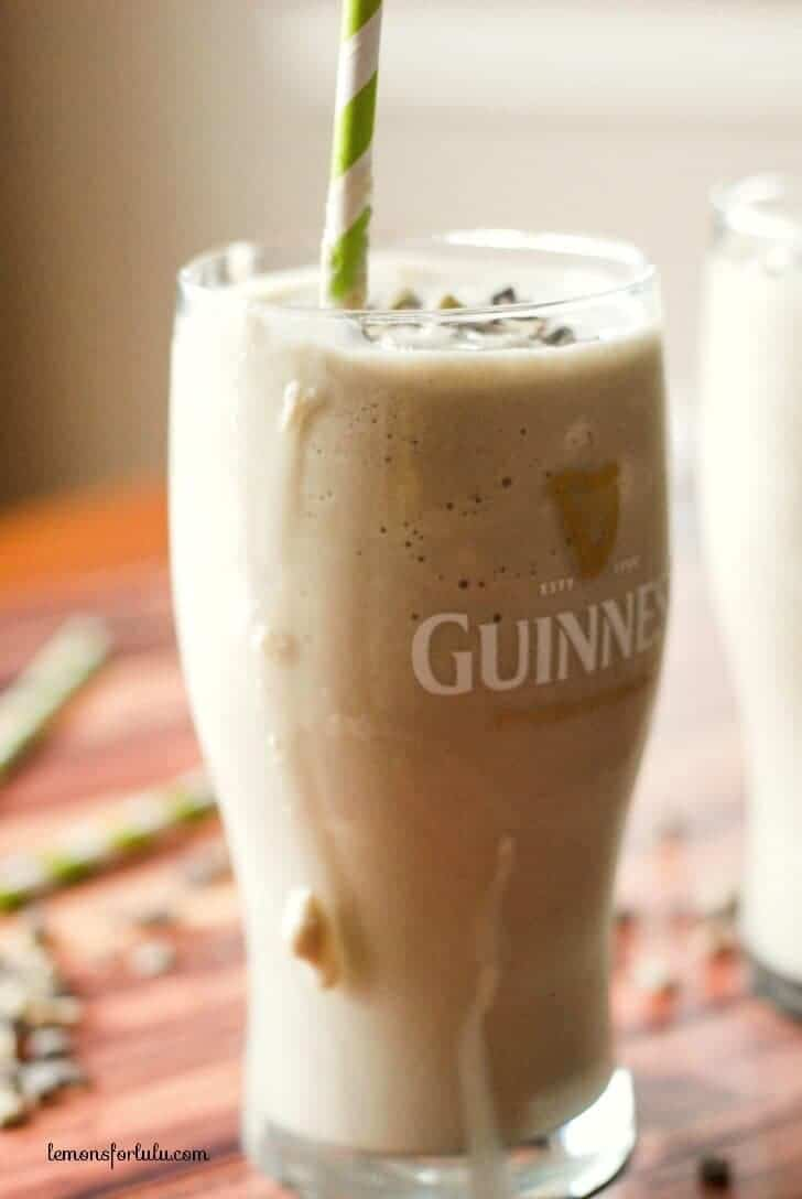 Boozy dessert recipes for St. Patrick's Day: Guinness Milkshake at Lemons for Lulu