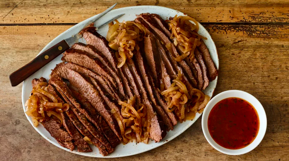 Passover brisket recipes: Slow Braised Brisket and Onions | Joy of Kosher