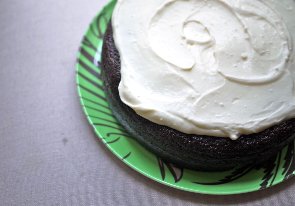 Boozy dessert recipes for St. Patrick's Day: Chocolate Guinness Cake recipe at Cool Mom Eats