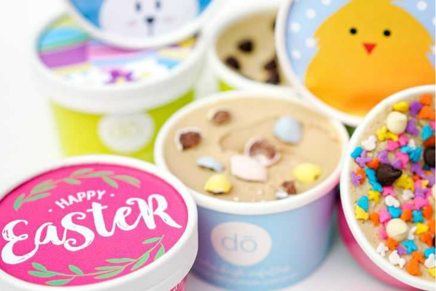 Thinking beyond the Easter basket with an Easter Cookie DŌ delivery