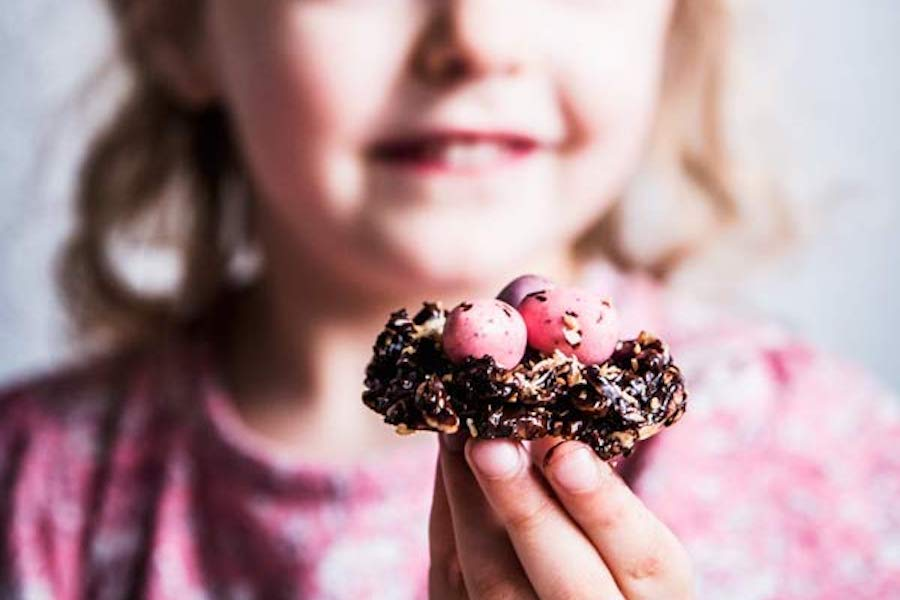 6 yummy recipes for Easter cookies and treats that kids of all ages can make with (ahem) minimal adult help.