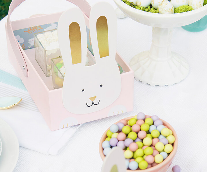 Gourmet Easter candy: Design your own basket at Sugarfina