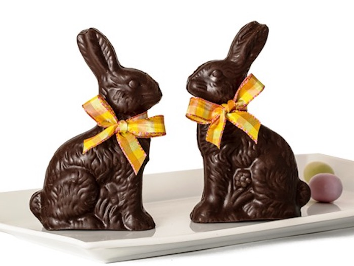 Gourmet Easter candy: Classic chocolate bunnies at Li-Lac