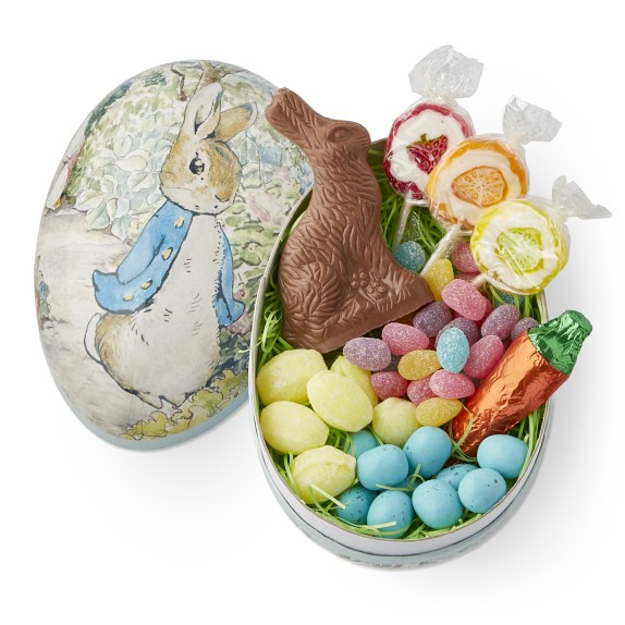 Gourmet Easter candy: Peter Rabbit egg at Williams Sonoma