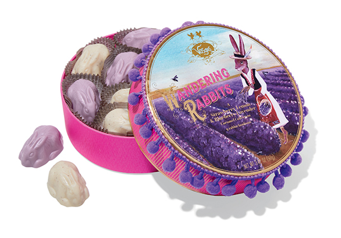 Gourmet Easter candy: Wandering Rabbits at Vosges