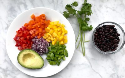 How to make Rainbow Salsa: A St. Patrick's Day recipe that's as fun as it is healthy.