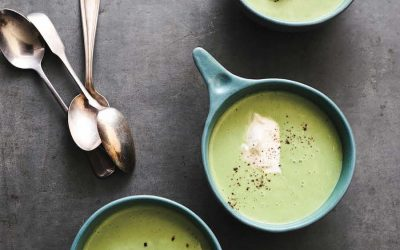 A vegetable cookbook perfect for families and an outstanding recipe for Pea Soup. We're obsessed!